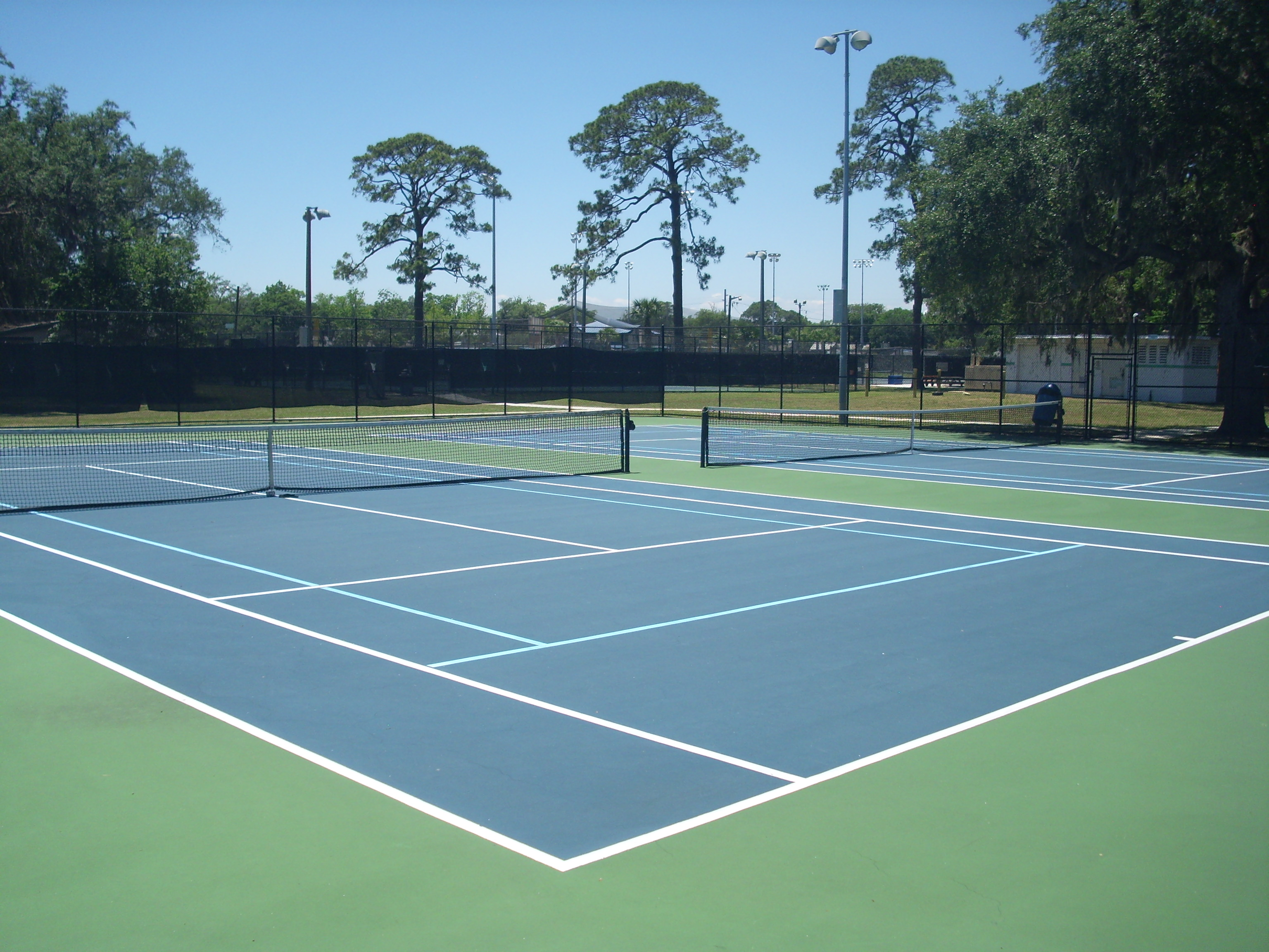 CP Tennis Courts 1 and 2