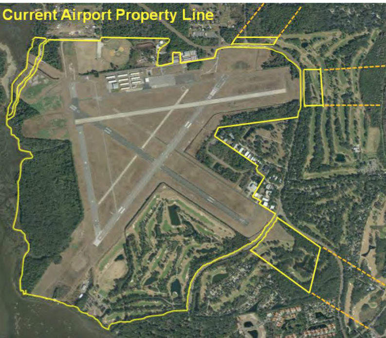 Current Airport Property Ownership Map