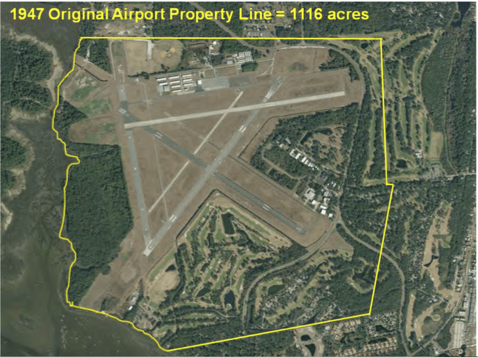 1947 Airport Property Map