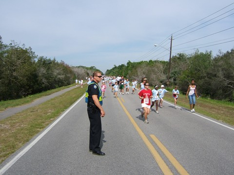 2007 Girls 5K Run